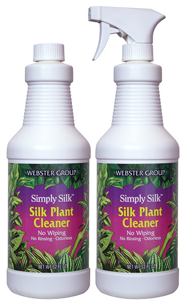Simply Silk, Silk Plant Cleaner - Twin Pack